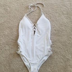 EXPRESS White Medium Monokini
